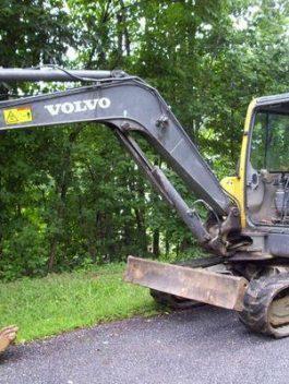 Volvo Ec55-eu Compact Excavator Workshop Service Manual Pdf Download