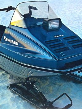 1978 Kawasaki Inviter Snowmobile Repair Manual Download PDF