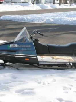 1979 KAWASAKI ST440 A2 INTRUDER SNOWMOBILE REPAIR MANUAL