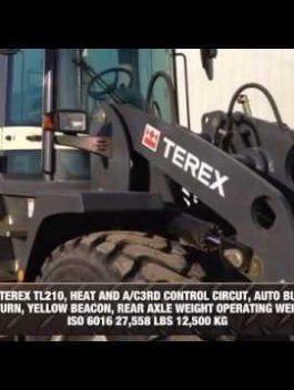 2010 Terex Wheel Loader TL210 Operating Manual Download