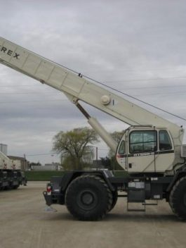 Terex RT665 Rough Terrain Cranes Workshop Service Repair Manual