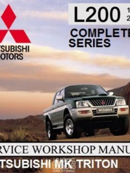 mitsubishi montero sport full service repair manual 1999 2002
