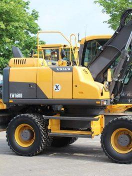 Volvo Ew160d Wheeled Excavator Full Service Repair Manual Pdf Download