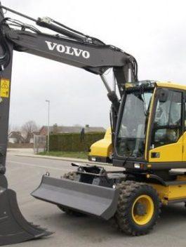 Volvo Ew140d Wheeled Excavator Full Service Repair Manual Pdf Download