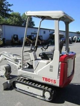 Takeuchi Tb015 Compact Excavator Service Repair Workshop Manual Download
