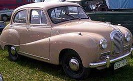 1952 Austin A40 Somerset Parts's Manual Download