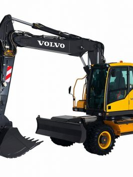 Volvo Ew160c Wheeled Excavator Service Repair Manual Pdf Download