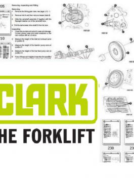 Clark 34000 Powershift Workshop Service Repair manual