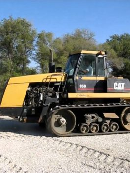 Agricultural Tractors Caterpillar Challenger 85D Operation and maintenance manual PDF