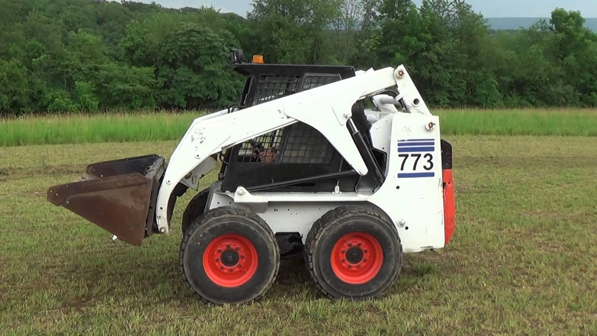 bobcat 773 skid steer loader repair manual