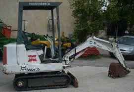 BOBCAT X 220 EXCAVATOR SERVICE REPAIR MANUAL (S/N 508212001 & Above)
