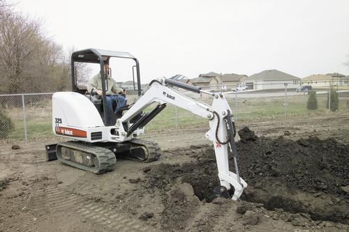 BOBCAT X 325 EXCAVATOR SERVICE REPAIR MANUAL (S/N: 514011001  514012999)