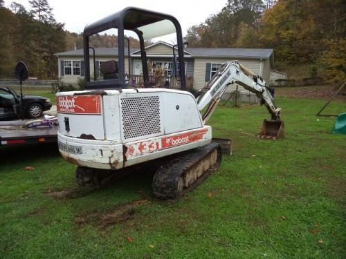 bobcat x 331 excavator service repair manual (s/n 511920001 & above)