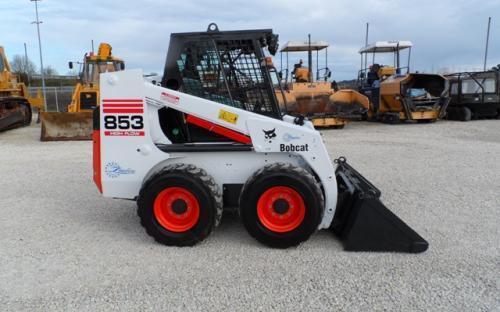Bobcat 853 Manual Hydraulic Pump