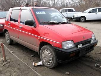 Daewoo Tico Service & Repair Manual 1991-1996