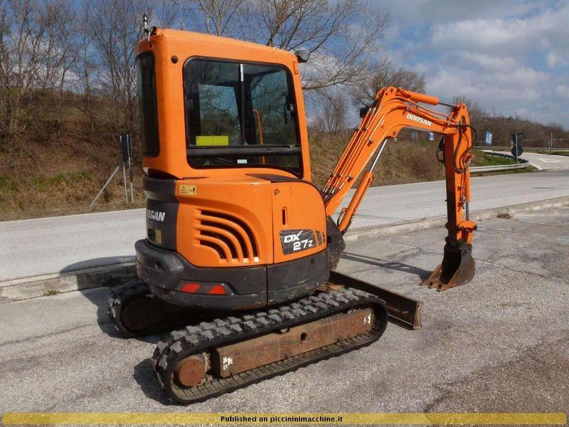 Doosan Daewoo DX27Z Mini Excavator Parts Manual DOWNLOAD