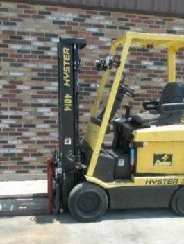 Hyster E25XM, E30XM, E35XM, E40XMS Forklift Parts catalog Manual pdf