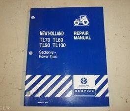 Holland tl70/80/90/100 Repair Service Manual
