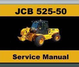 JCB 525-50 / 525-50 LOADALL WORKSHOP WORKSHOP SERVICE/ REPAIR MANUAL