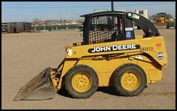 JOHN DEERE 240 250 SKID STEER LOADER PARTS CATALOG MANUAL PC2690
