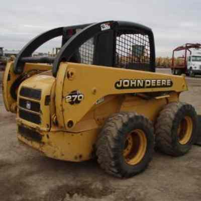 JOHN DEERE 260 270 SKID STEER LOADER OPERATORS MANUAL OMKV18671