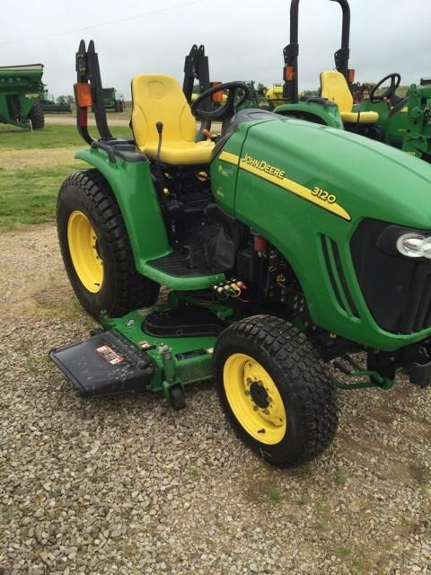 John Deere 3720 Manual : John deere compact utility tractor