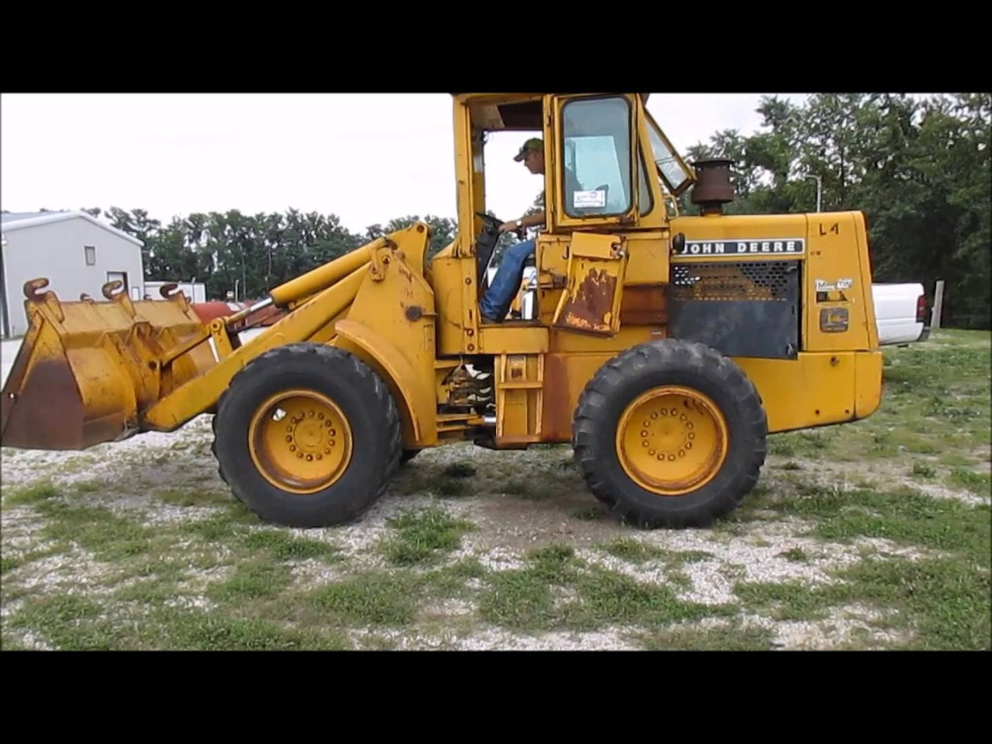 JOHN DEERE 444H 544H TC44H TC54H WHEEL LOADER OPERATION AND TEST SERVICE  TECHNICAL MANUAL TM1604