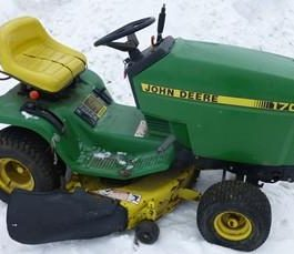 John Deere Riding Mower 170 Service Manual