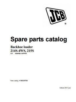 Jcb 214S-4WS, 215S Spare Parts Catalog Manual Pdf S/N 0480988-499999