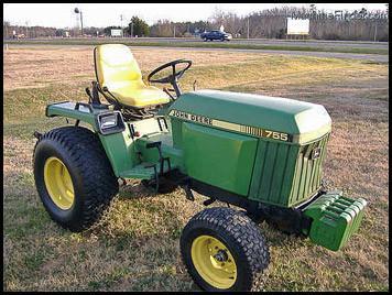 john deere 655, 755, 855, 955, 756 and 856 compact utility tractor service  repair manual tm1360