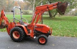 KUBOTA B20 TLB TRACTOR TL420 LOADER BT650 BT750 BACKHOE WORKSHOP SERVICE MANUAL