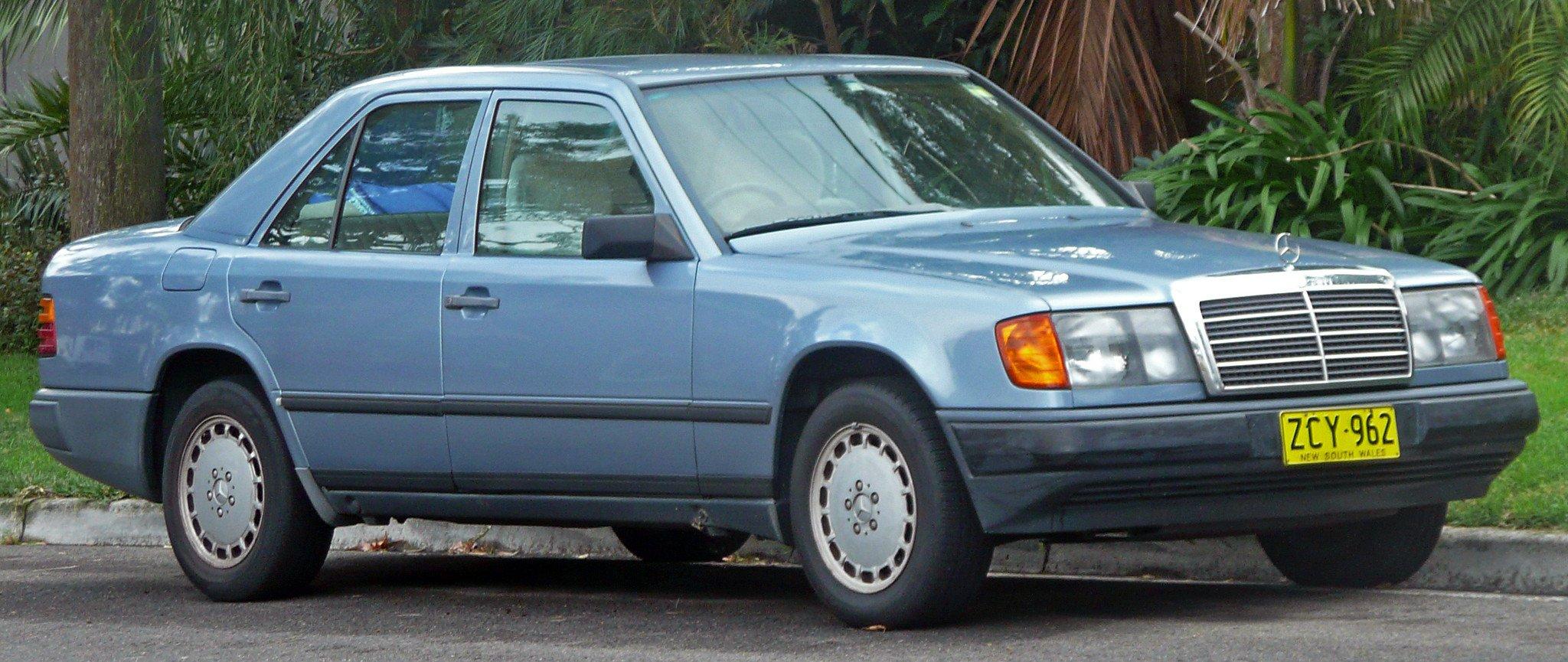 Mercedes-Benz Typ-124 Limousine, T-Limousine, Coupe, Cabriolet (E