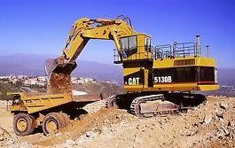 Mining excavator Caterpillar 5130B Spare parts catalog PDF