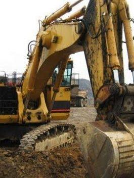 Mining excavator Caterpillar 5230B Spare parts catalog PDF