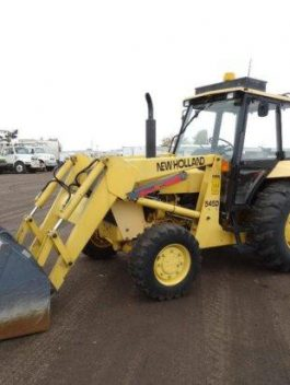 New Holland 545D turbo tractor operator manual