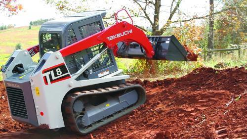 Takeuchi TL8 Compact Track Loader Operator Manual