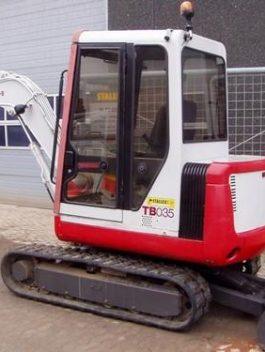 Takeuchi TB030(B) Compact Excavator Parts Manual DOWNLOAD (SN 1305001-)