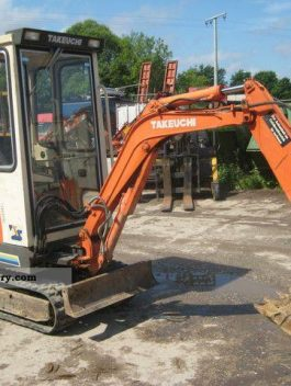 Takeuchi TB15 TB120 Compact Excavator Parts Manual DOWNLOAD