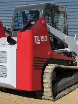 Takeuchi TL150 Crawler Loader Parts Manual DOWNLOAD (SN: 21500004 and up)
