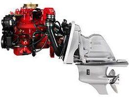 VOLVO PENTA V6 V8 GL GS GSI OUTBOARD ENGINE WORKSHOP MANUAL