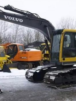 Volvo Ec140b Lcm Excavator Full Service Manual Pdf Download