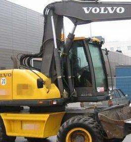 Volvo Ew140 Wheeled Excavator Workshop Service Repair Manual Pdf Download