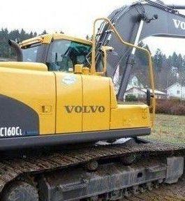 Volvo Ec160c Nl Excavator Full Service Repair Manual Pdf Download