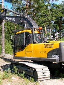 Volvo Fc2121c Excavator Workshop Service Repair Manual Pdf Download