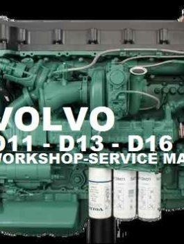 Volvo Marine / Truck Engine D13 Service Repair Manual
