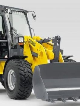 Wacker Neuson WL50 Wheel Loader Operator's Manual