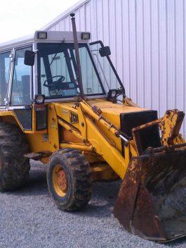 JCB 1550 b 1988 Backhoe Workshop Service Repair Manual Serial Number 332564