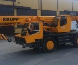 Krupp Crane KMK 2025 Operation and Maintenance Manual