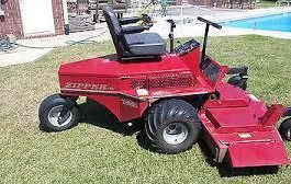 Zipper TS-25 Front Cut Zero Turn Mower Service Repair Manual