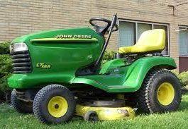 John Deere LT166 Lawn Tractor Service Repair Manual